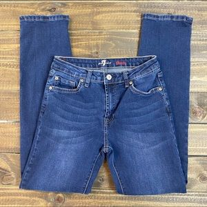 7 For All Mankind Slimmy Boys Jeans Sz 14